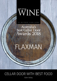 Gourmet Traveller Best Cellar Door in Eden Valley Winner